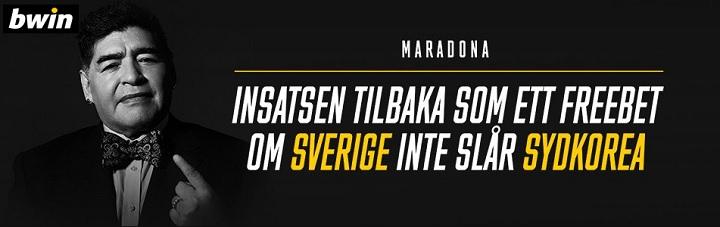 100 kr gratis spel på Sverige - Sydkorea