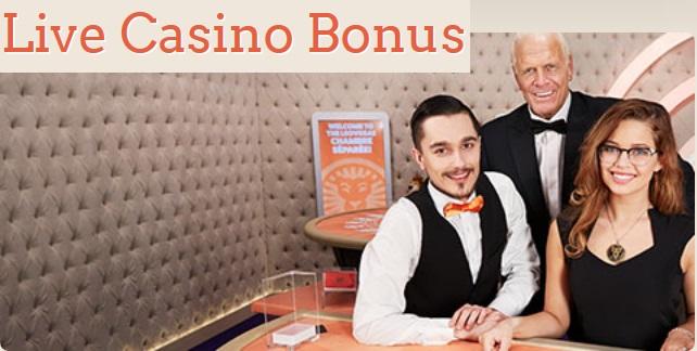 500 kr gratis live casino hos LeoVegas