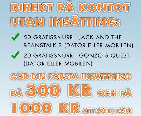 Bertil casino bonus och gratis spinn 2015