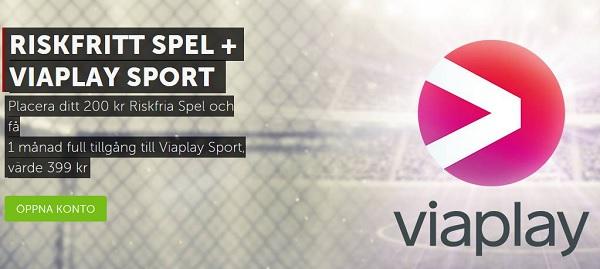 Viaplay gratis rabattkod Sport