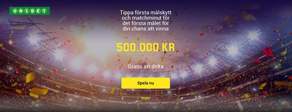 Betta gratis på Champions League finalen hos Unibet