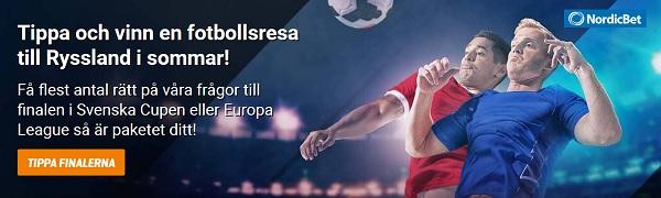 Vinn en fotbollsresa till Ryssland i sommar