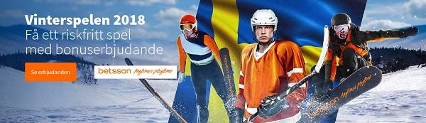 Spela med gratis pengar på Vinter OS 2018