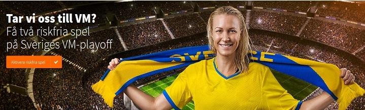 Gratis spel på Sverige - Italien Playoff VM