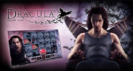gratis spinn på Dracula från NetEnt
