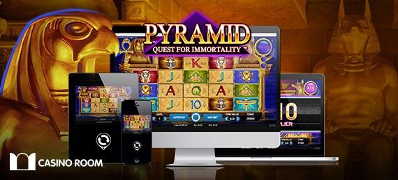 Gratis spinn på Pyramid Quest for Immortality från NetEnt