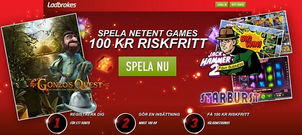 100 kr gratis casino utan insättning