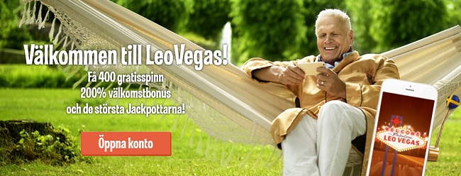 Leo Vegas – Sommarens bästa casinobonus