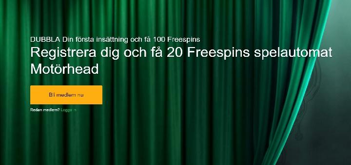 Mr Green 20 gratis spinn Oktober 2016