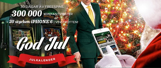 Mr Green julklaender