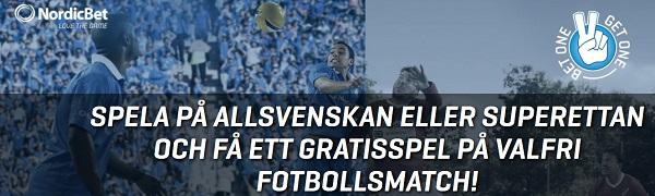 Nordicbet Casino 100 kr gratis