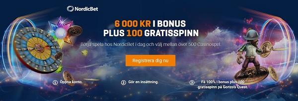 NordicBet Gratis Casino