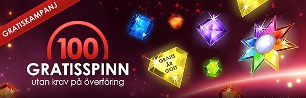 Casino gratis spinn SverigeCasino