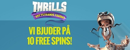 gratis spinn Thrills Casino