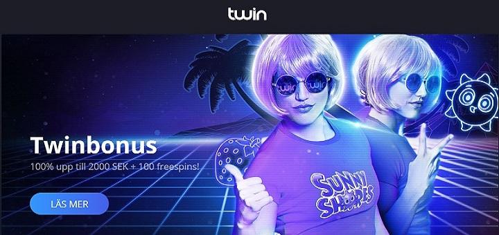 10 free spins exklusivt på nya Twin.com casino