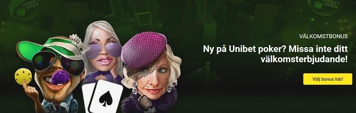 Få 200 kr i Unibet pokerbonus 2019