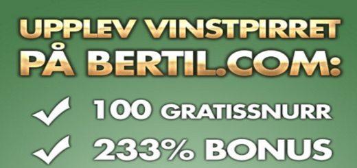 100 gratis spinn bertil