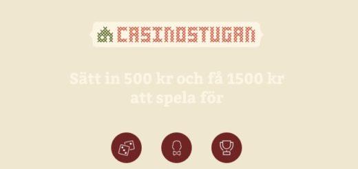 casinostugan bonusar 2019